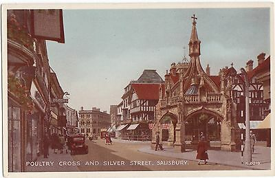 Salisbury Poultry cross and Silver street