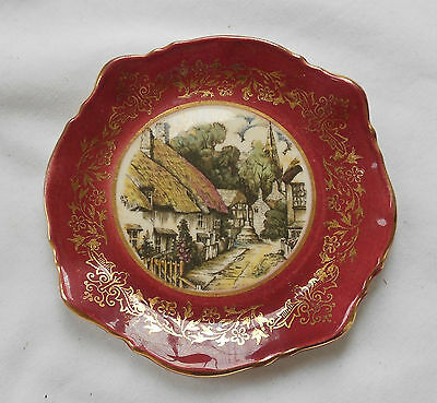 STUNNING Vintage Collectable GENUINE DECORATIVE ANTIQUE SANDLAND WARE PLATE