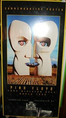 Pink Floyd rare limited issued Labatts matted poster 1990s