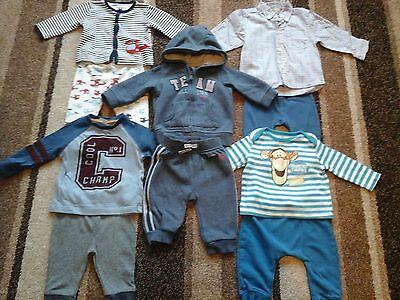 08Bb Baby Boys Clothing Bundle Of Tops And Bottoms For 3-6 Months Old