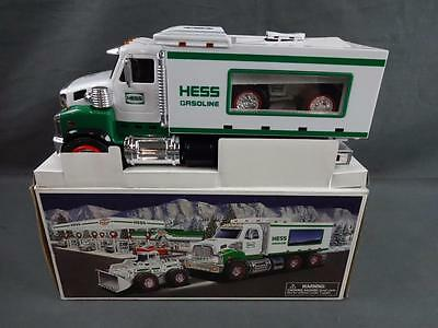 2008 Hess Toy Truck & Front End Loader Construction Vehicle Near Mint In Box