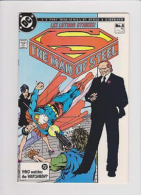 DC Comics! Superman: The Man of Steel! Issue 4!
