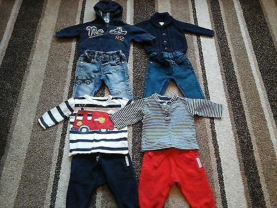 04Bb Baby Boys All Next Make Clothing Bundle Of Tops And Bottoms 3-6 Months