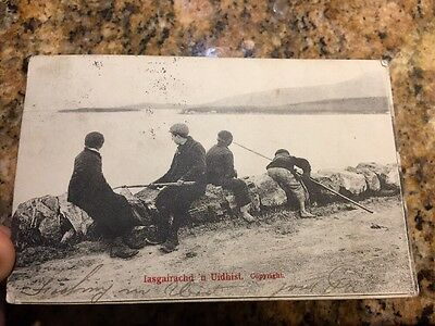 South Uist By Oban Uidhist Fishing 1903 Very Rare