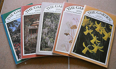 The Garden – Journal of the Royal Horticultural Society Vol 102 Part 2-6 1977