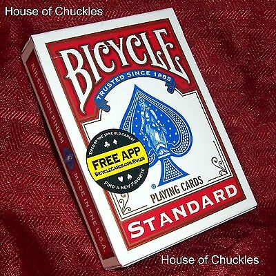 Professional One Way Forcing Card Deck - Red Bicycle - Magic Trick - 1-way Force
