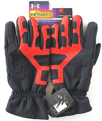New Under Armour Storm Stealth Glove   Size Lg  Warmest
