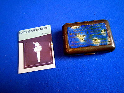 Public Caterers Spears & Ponds Bryant & May's Tin Match Holder Vesta Striker