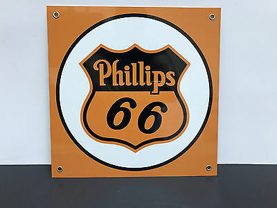 Philips 66  gasoline racing vintage advertising sign
