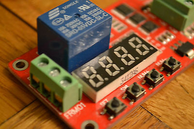 5v Relay Self-lock Cycle Timer Module Board -Home Automation Delay etc
