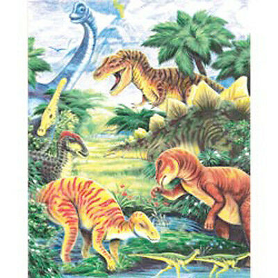 """Dinosaur Fun - Color Pencil By Number Kit 8.75""""X11.75"""""""