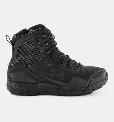 Men's Under Armour Valsetz RTS Side-Zip Tactical Boots Black 1257847-001