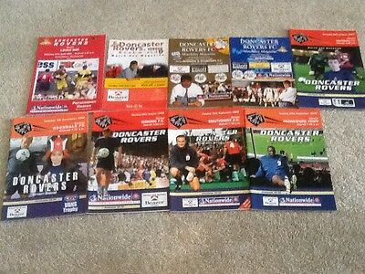 Doncaster Rovers Collection X9 All Listed