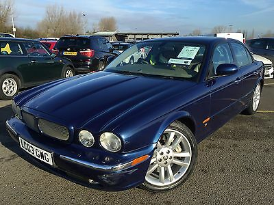03 Jaguar Xjr V8 Supercharge 1 Owner, **very Very Rare Car Indeed** Nav Leather