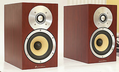 B&W CM1 Loudspeakers Bookshelf Audiophile Speakers NEW Nautilus Tweeters