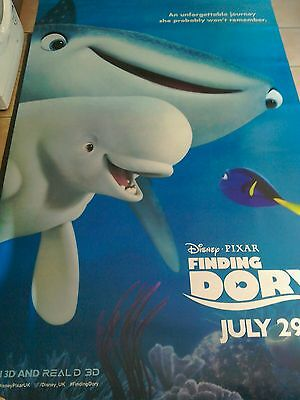 FINDINF DORY ORIGINAL MOVIE BANNER.5ft x8 ft SUPERB FREE P&P