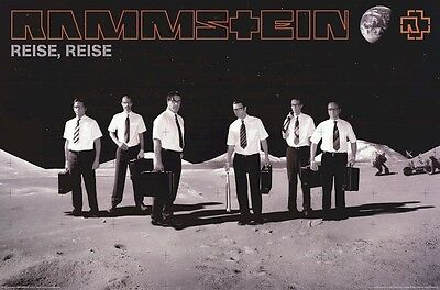 RAMMSTEIN ~ ON THE MOON 24x36 MUSIC POSTER Reise Till Lindemann NEW/ROLLED!