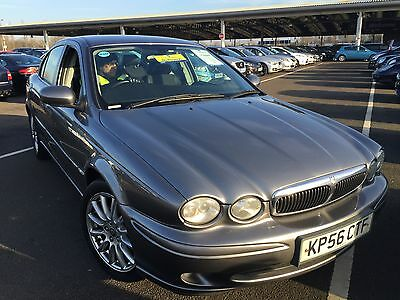 56 Jaguar X-Type S D Nice Spec And Option, Fabulous Looking 1/2 Leather Lovely