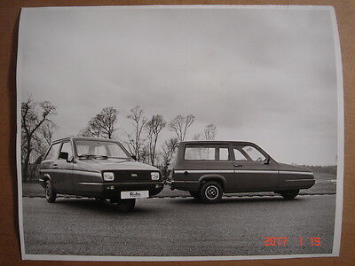 RELIANT  Rialto  large original press photo  ca.1980.