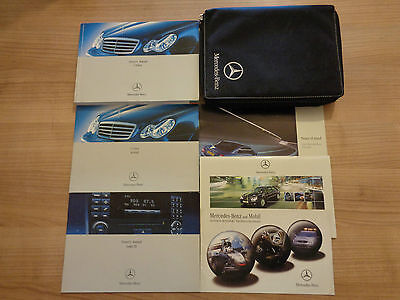 Mercedes C Class Owners Handbook Manual and Pack 04-06