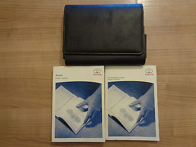 Toyota Avensis Owners Handbook/Manual and Wallet 09-12