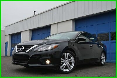 2016 Nissan Altima 3.5 V6 SL As New 7 Mls Navigation Loaded Save Big Leather Interior Heated Seats & Steering Blind Spot Monitor BOSE Moonroof Loaded