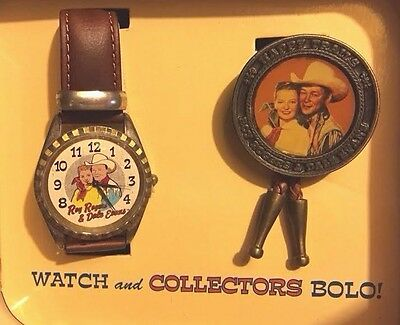 Roy Rogers and Dale Evans Collectors Watch w/ free bolo
