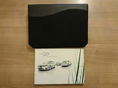 SAAB 93 9-3 Owners Handbook/Manual and Wallet 07-12