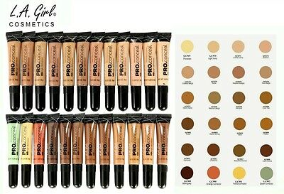 100% Authentic LA Girl Pro Conceal HD. High Definition Concealer-Choose Color