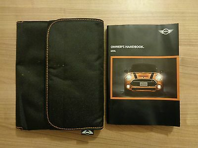 Mini Owners Handbook/Manual and Wallet 14-17
