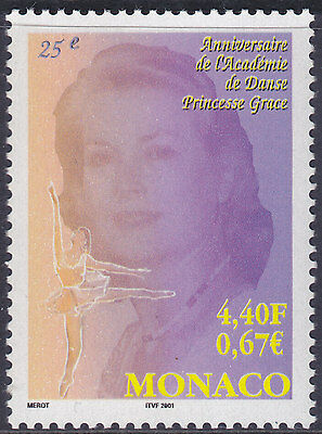 Monaco 2001 Princess Grace Dance Academy UM Yvert 2305 Cat 2.20 Euros