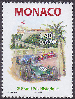 Monaco 2000 2nd Historic Vehicles Grand Prix UM Yvert 2251 Cat 2.30 Euros
