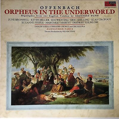Sadlers Wells  -   Offenbach  :  Orpheus in the Underworld -  LP