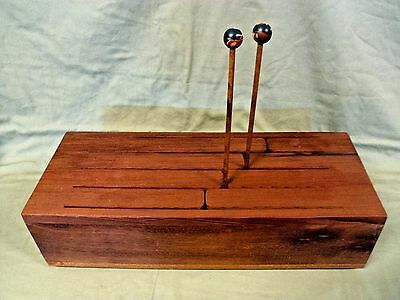 8 Pitch Wood Xylophone Log Drum Slit Tongue Box Style from South Africa