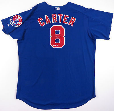 Gary Carter Montreal Expos Autographed Auto Signed Sewn Majestic Jersey Jsa Loa
