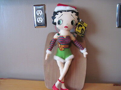 """Betty Boop Doll Collectible  Betty The Christmas Elf 17"""""""