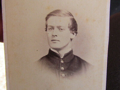 possible 136th or 49th Pennsylvania Infantry soldier in Washington, DC. cdv