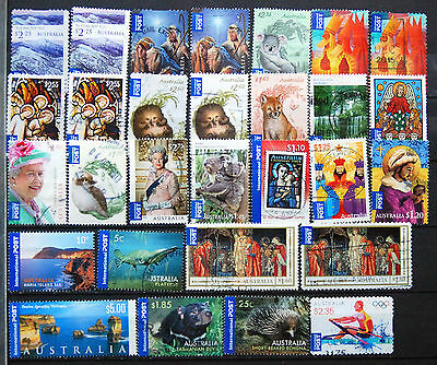 Great Collection of Used Australian International Postage Stamps, Sheet & SA.