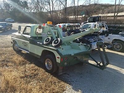 1972 ford f350 wrecker tow truck holmes 440
