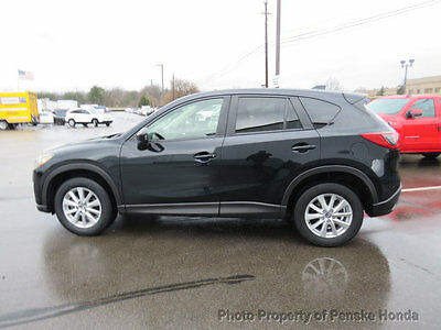 2015 Mazda CX-5 FWD 4dr Automatic Touring FWD 4dr Automatic Touring SUV Automatic Gasoline 4 Cyl Jet Black Mica