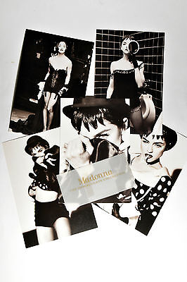 """MADONNA  Cartoline """"The Immaculate Collection"""""""