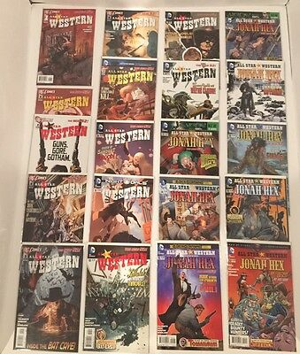 All Star Western/ Jonah Hex  #0,1-34 Complete Set New 52 (Palmiotti /gray) 2011