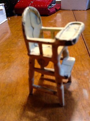 Cast Iron Dollhouse High Chair Kilgore