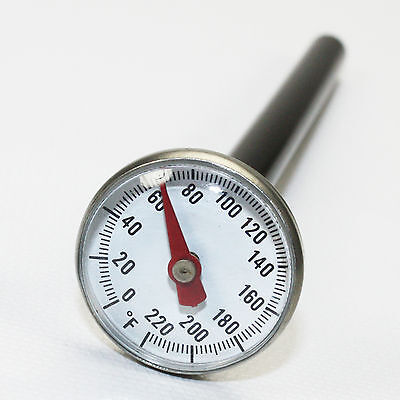 ST02 Supco Stainless Pocket Dial Thermometer Food Service Use HVAC
