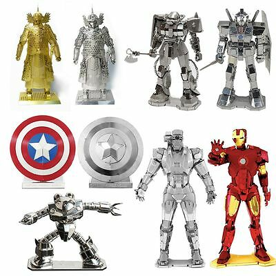 The Avengers Alliance Series 3D Metal Model Puzzle Jigsaw Laser Cut Assembly Toy