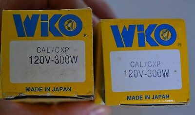 2 Wiko Cal / Cxp Av/photo Lamp Cal/cxp 120V - 300W , Projector Bulbs, New In Box