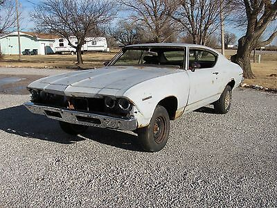 """1969 Chevrolet Chevelle Malibu 1969 Chevelle Malibu 2dr Coupe """"Project Car""""  Rolling Body and Chassis"""
