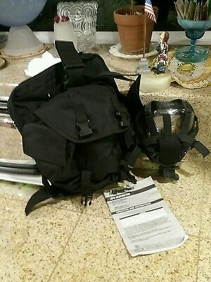 MSA 40mm w/TACTICAL BAG Millennium CBRN Gas Mask Respirator MEDIUM 10051287