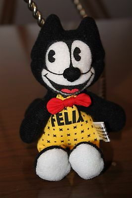 """Felix the cat Plush Toy Collectible 5"""" used No stains or tears."""