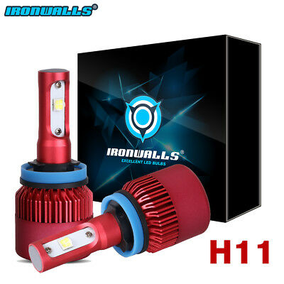 H11 252W 25200LM LED HEADLIGHTS KIT LOW BEAM H8 H9 FIT FOR GMC CHEVY Silverado